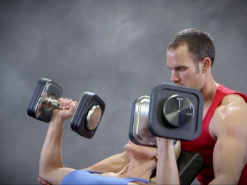 Ironmaster Quick-Lock Adjustable Dumbbells Demonstration